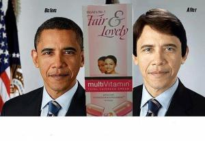 Obama Fair and Lovely