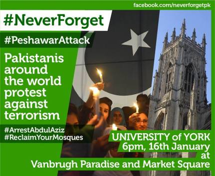 Pakistanis Standing Against Terrorism, come join us?